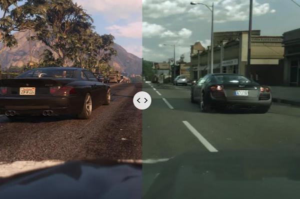 اینتل از یادگیری ماشینی برای ساخت بازی GTA V کاملا واقع گرایانه استفاده می کند