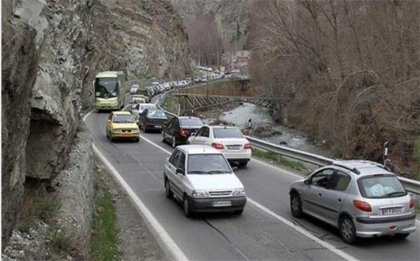 افزایش 2 درصدی تردد وسایل نقلیه در محورهای برون شهری