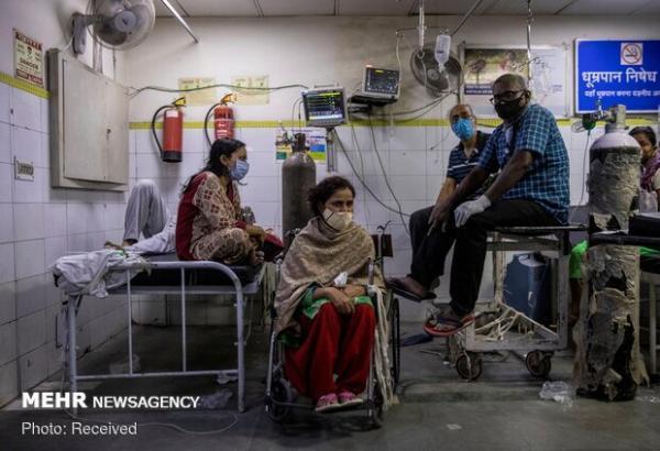 کرونا در هند 3617 قربانی گرفت، 173 هزار و 790 مورد جدید ابتلا