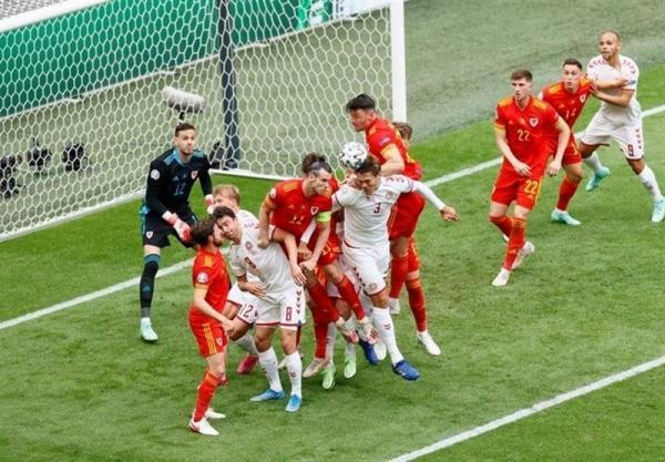 یورو 2020، برتری آماری قابل ملاحظه دانمارک مقابل ولز