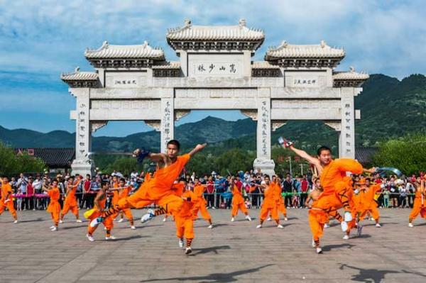 زیباترین معابد چین باستان