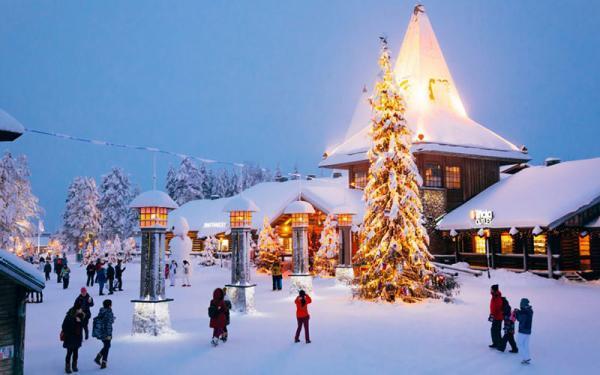 شهر جادویی رووانیمی در فنلاند؛ زادگاه بابانوئل